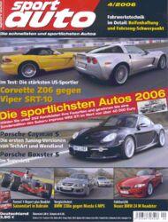 Titel sportauto, Heft 04/2006