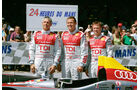 Tom Kristensen, Dindo Capello, Allan McNish, 2008