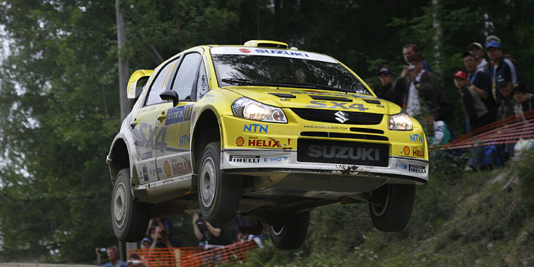 Toni Gardemeister, Rallye Finnland 2008, Rallye-Sprünge