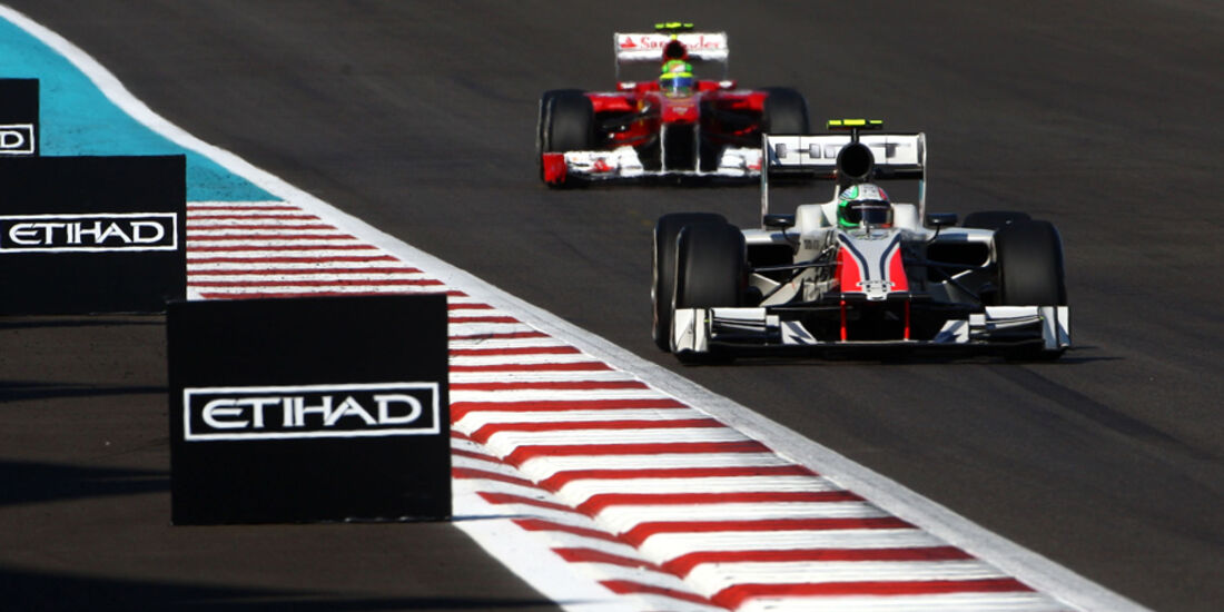 Tonio Liuzzi - GP Abu Dhabi - Qualifying - 12.11.2011