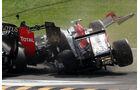 Tonio Liuzzi GP Italien Crashs 2011