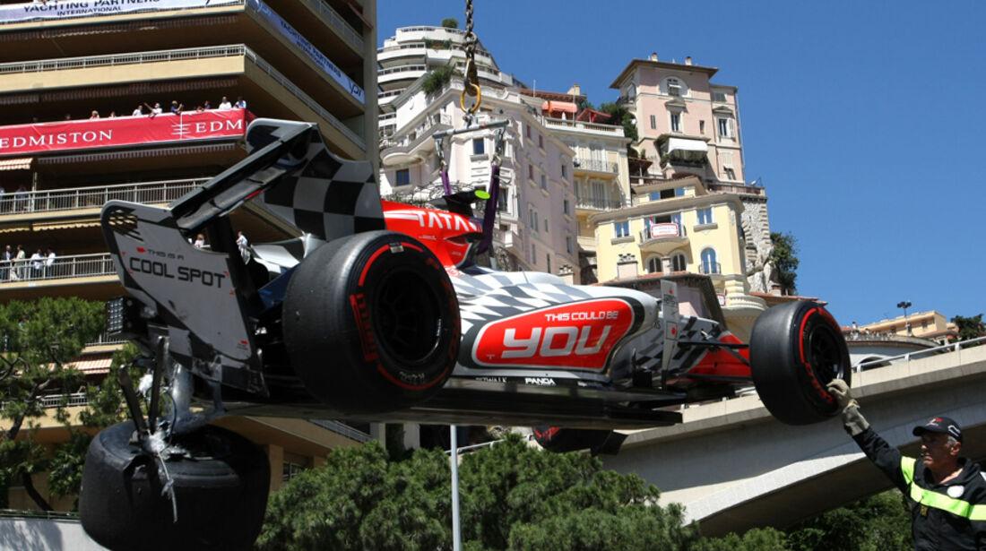 Tonio Liuzzi GP Monaco 2011