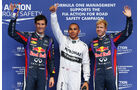 Top 3 - Formel 1 - GP Belgien - Spa-Francorchamps - 24. August