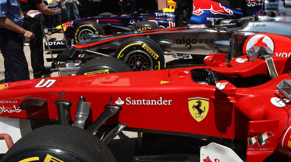 Top 3 - GP Europa - Qualifying - 25. Juni 2011