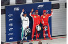 Top3 - Formel 1 - GP China - Shanghai - 14. April 2018