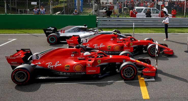 Top3 - Qualifying - GP Italien 2018