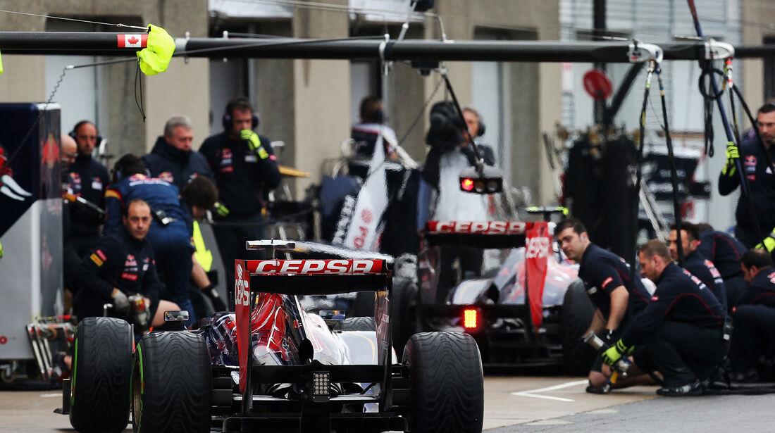Toro Rosso - Boxenstopp - Formel 1 2013
