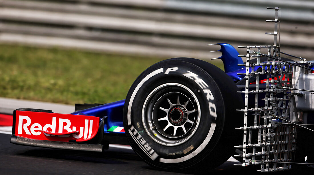 Toro Rosso - F1-Test - Budapest - 1. August 2018