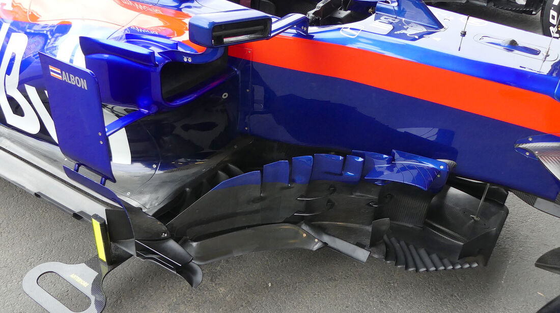 Toro Rosso - Formel 1 - GP Aserbaidschan - Baku - 25. April 2019