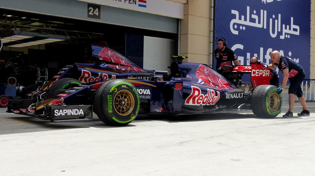 Toro Rosso - Formel 1 - GP Bahrain - 17. April 2015