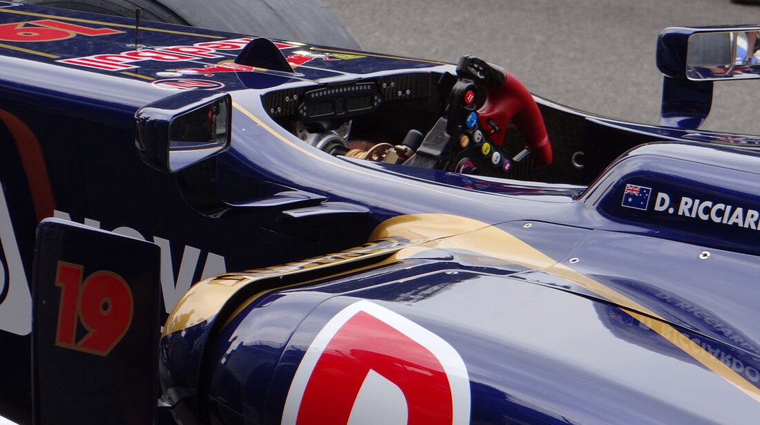 Toro Rosso - Formel 1 - GP Belgien - Spa-Francorchamps - 24. August