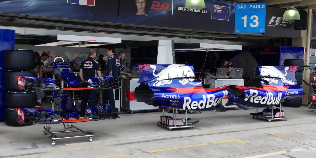 Toro Rosso - Formel 1 - GP Brasilien - 9. November 2017