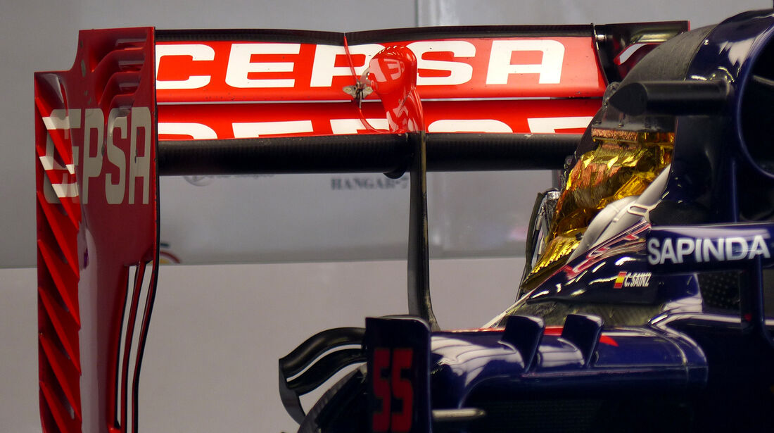 Toro Rosso - Formel 1 - GP China - Shanghai - 10. April 2015