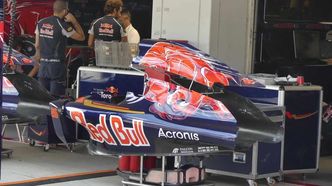 Toro Rosso - Formel 1 - GP Japan - Suzuka - Donnerstag - 6.10.2016