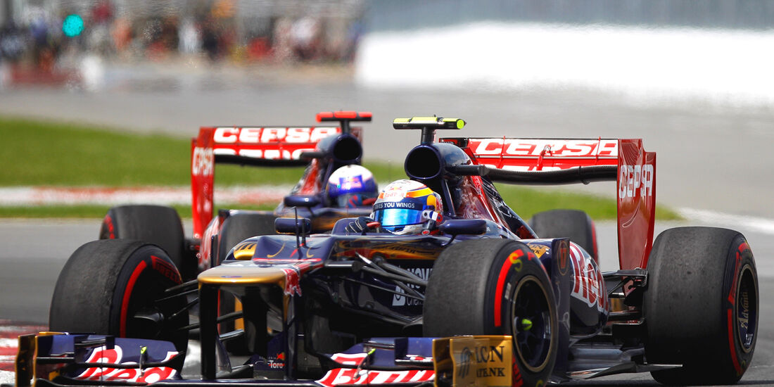 Toro Rosso Formel 1 GP Kanada 2012