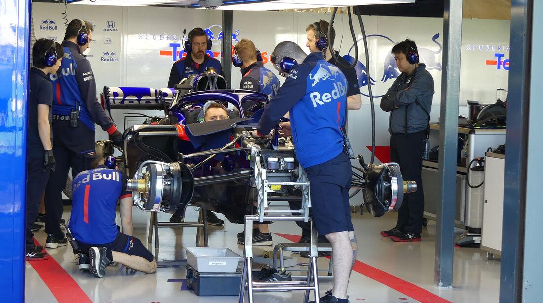 Toro Rosso - GP Australien 2018 - Melbourne - Albert Park - Donnerstag - 22.3.2018