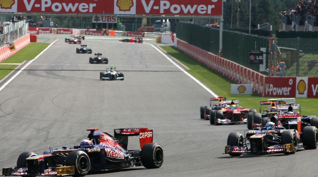 Toro Rosso GP Belgien 2012