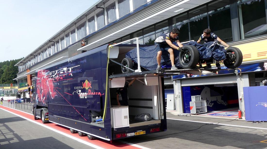 Toro Rosso - GP Belgien - Spa-Francorchamps - Formel 1 - 23. August 2017