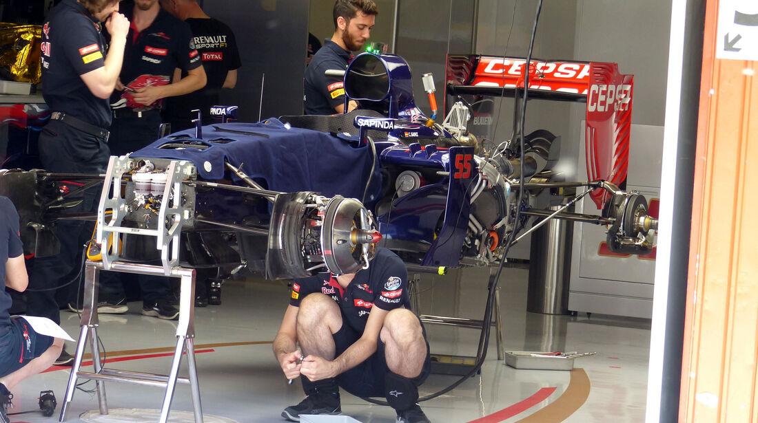Toro Rosso - GP Spanien - Barcelona - Donnerstag - 7.5.2015