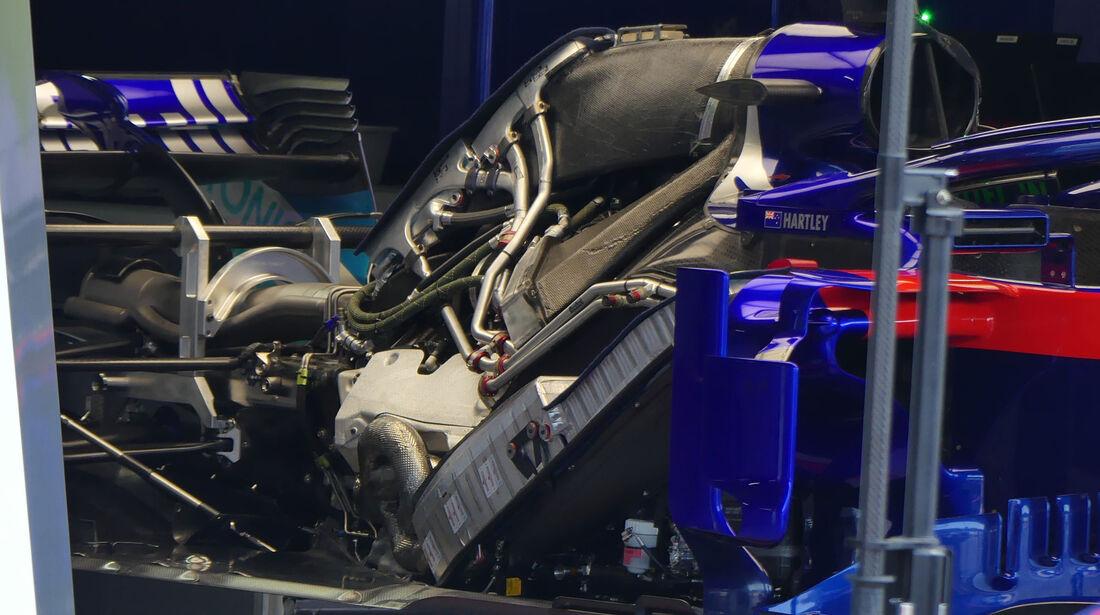 Toro Rosso - GP Ungarn 2018 - Technik-Updates