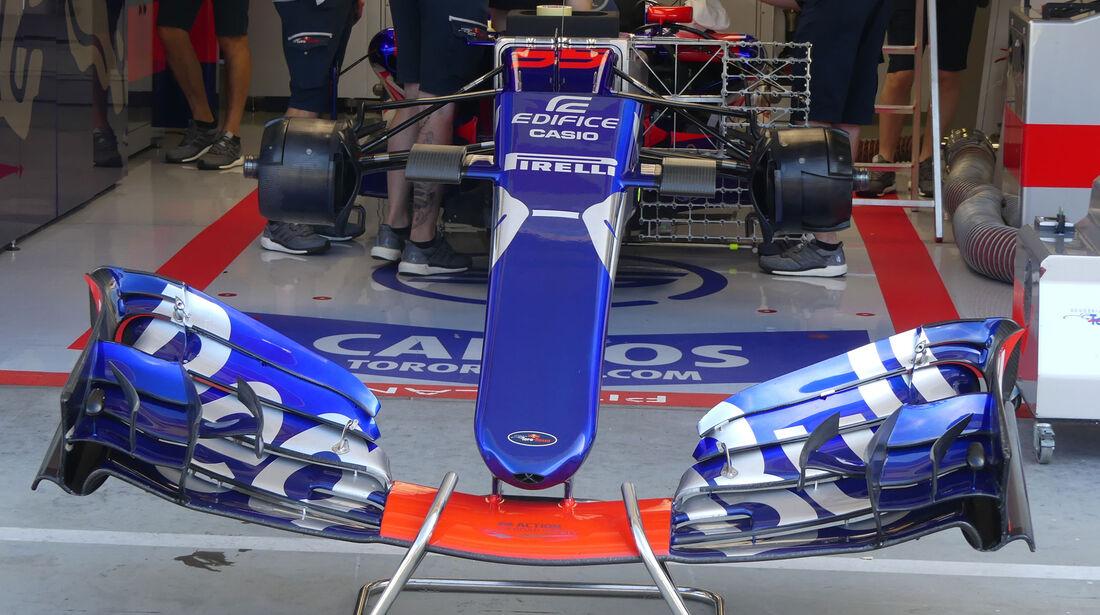 Toro Rosso - GP Ungarn - Budapest - Formel 1 - 28.7.2017