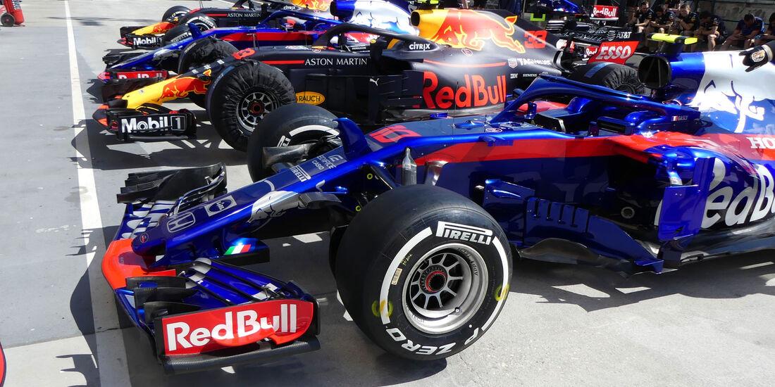 Toro Rosso - GP Ungarn - Budapest - Formel 1 - Donnerstag - 26.7.2018