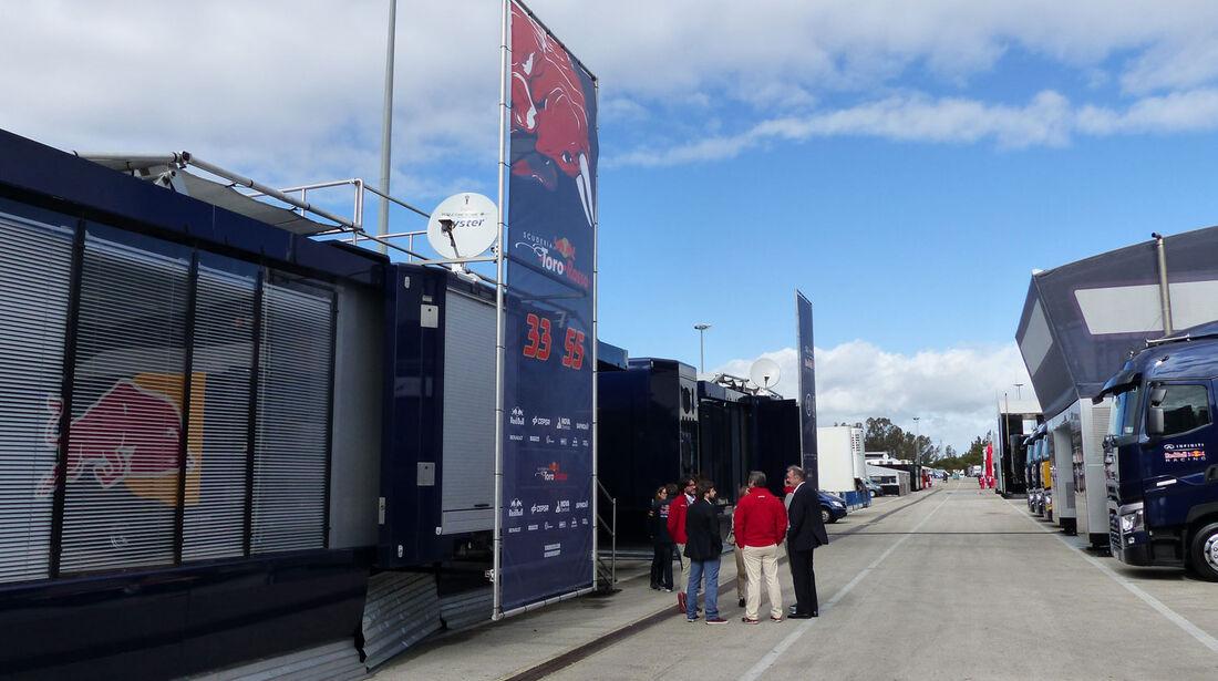 Toro Rosso - Impressionen - Jerez - Formel 1-Test - 31. Januar 2015