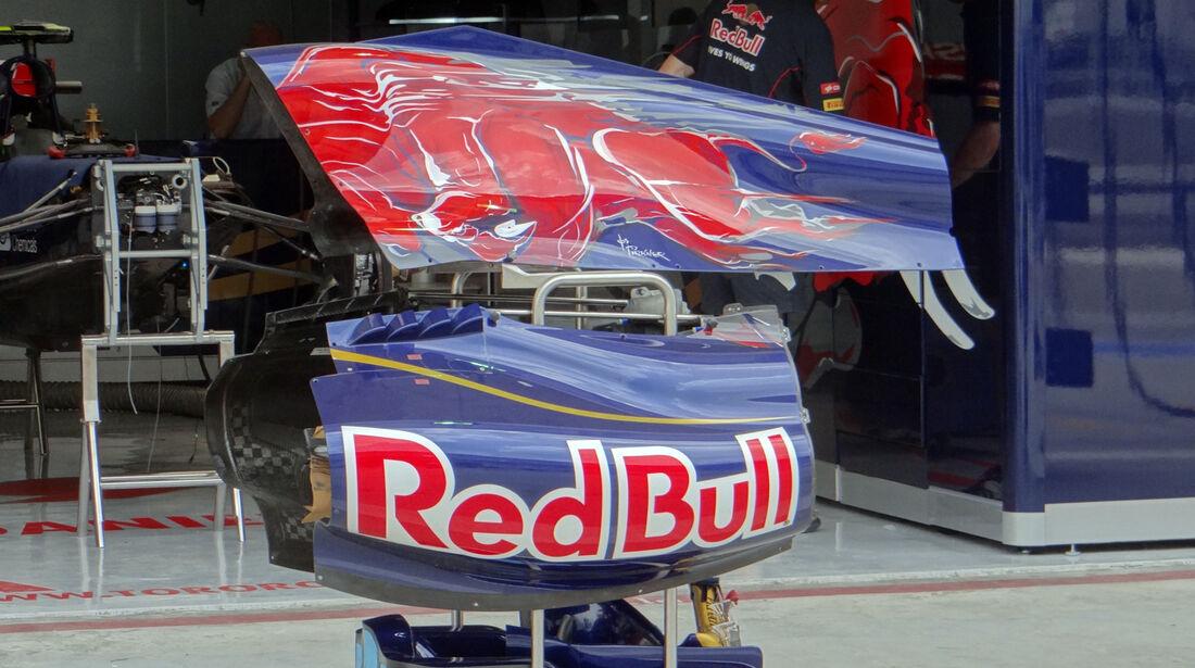 Toro Rosso Motorabdeckung - Formel 1 - GP Bahrain - 18. April 2013