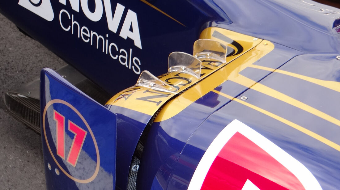 Toro Rosso Technik GP England 2012