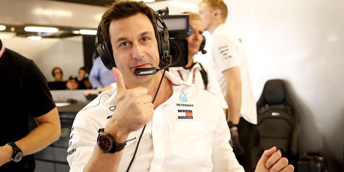 Toto Wolff - Mercedes - Formel 1 - GP Abu Dhabi  -24. November 2018