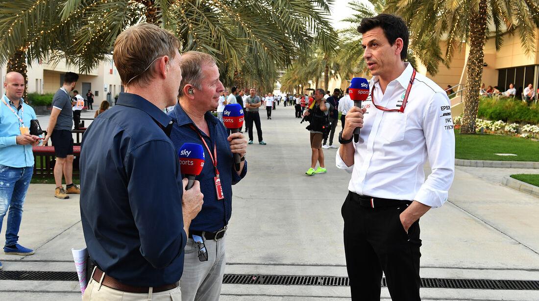 Toto Wolff - Mercedes - Formel 1 - GP Bahrain - 7. April 2018