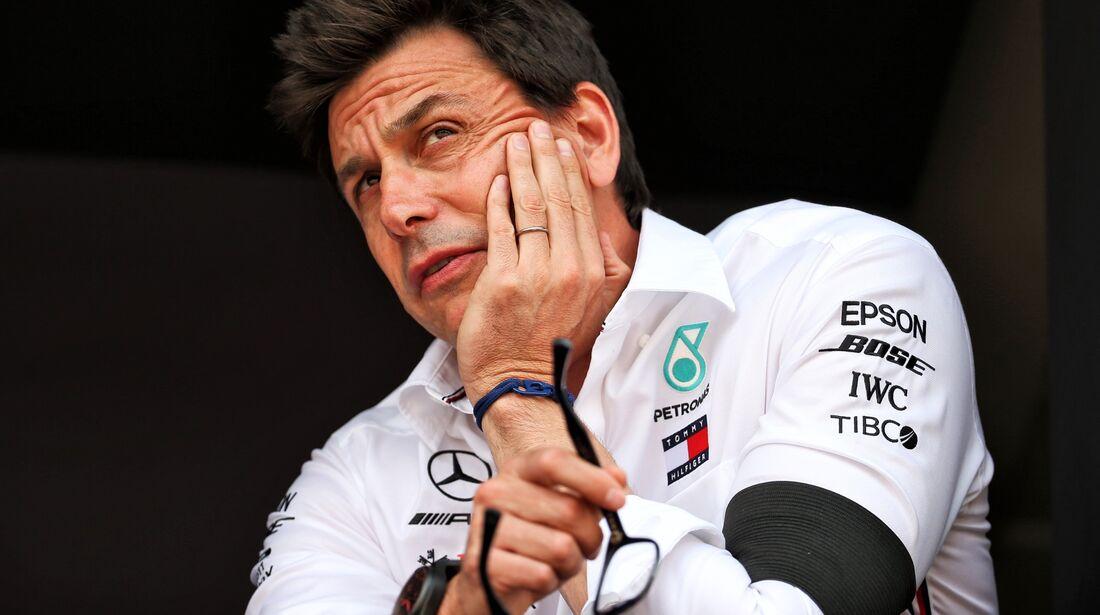 Toto Wolff - Mercedes - Formel 1 - GP Monaco - 25. Mai 2019