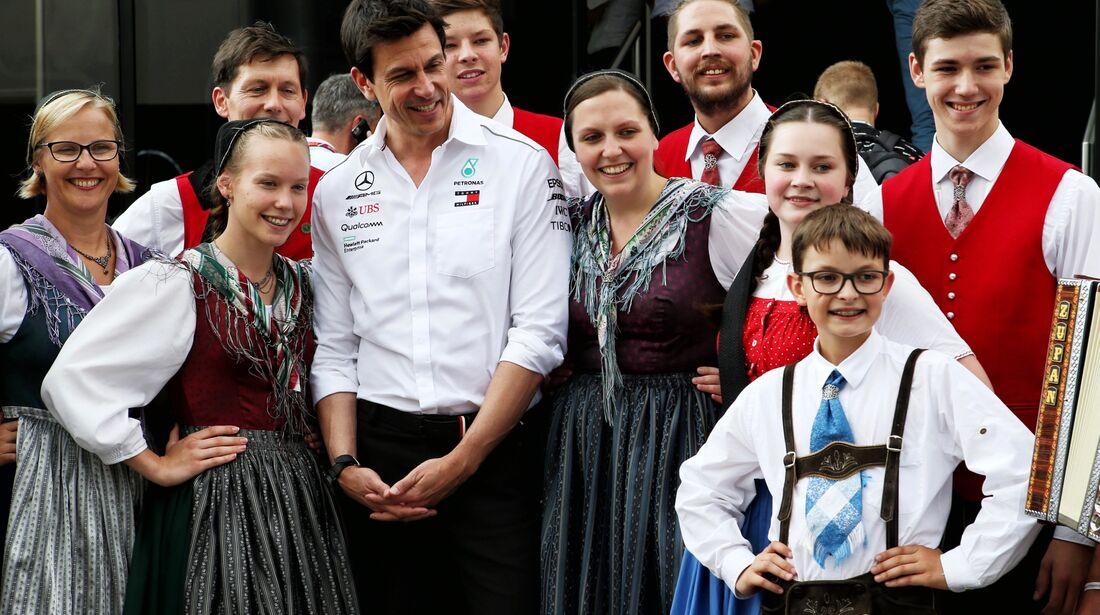 Toto Wolff - Mercedes - Formel 1 - GP Österreich - 30. Juni 2018