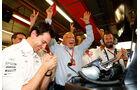 Toto Wolff - Niki Lauda - GP Singapur 2017 - Rennen