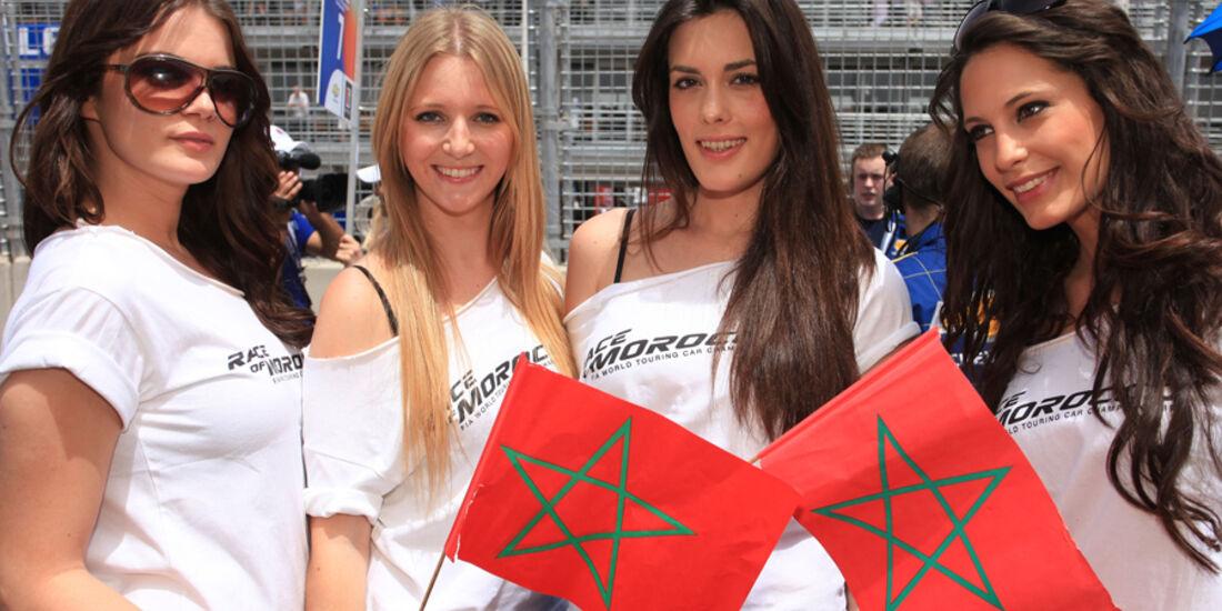 Tourenwagen-WM Marokko WTCC 2010 Girls