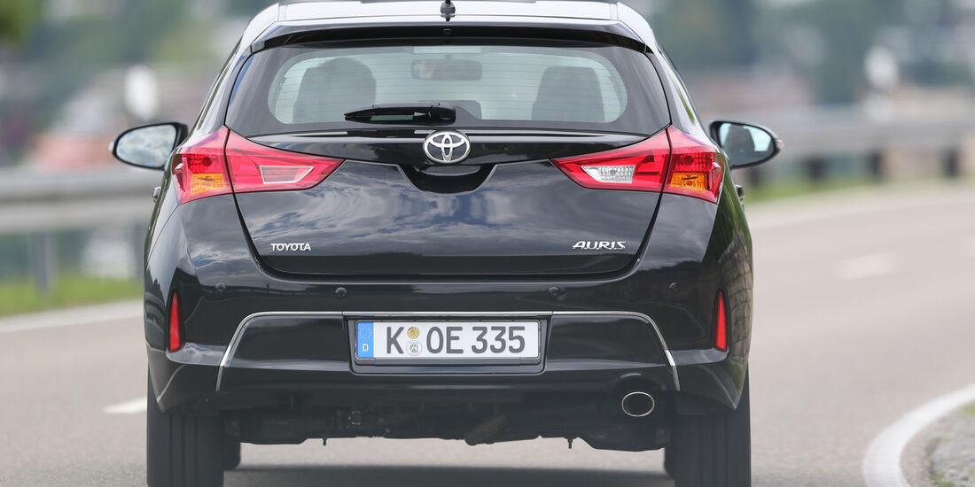 Toyota Auris 2.0 D-4D, Heckansicht