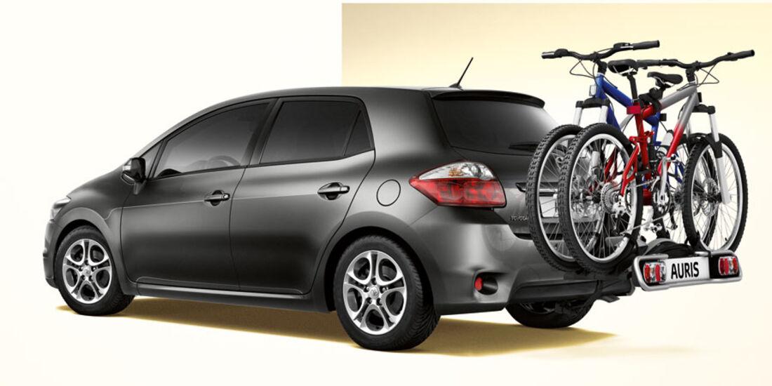 Toyota Auris, Fahrradträger