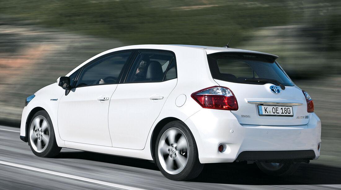 Toyota Auris Hybrid, Heckansicht