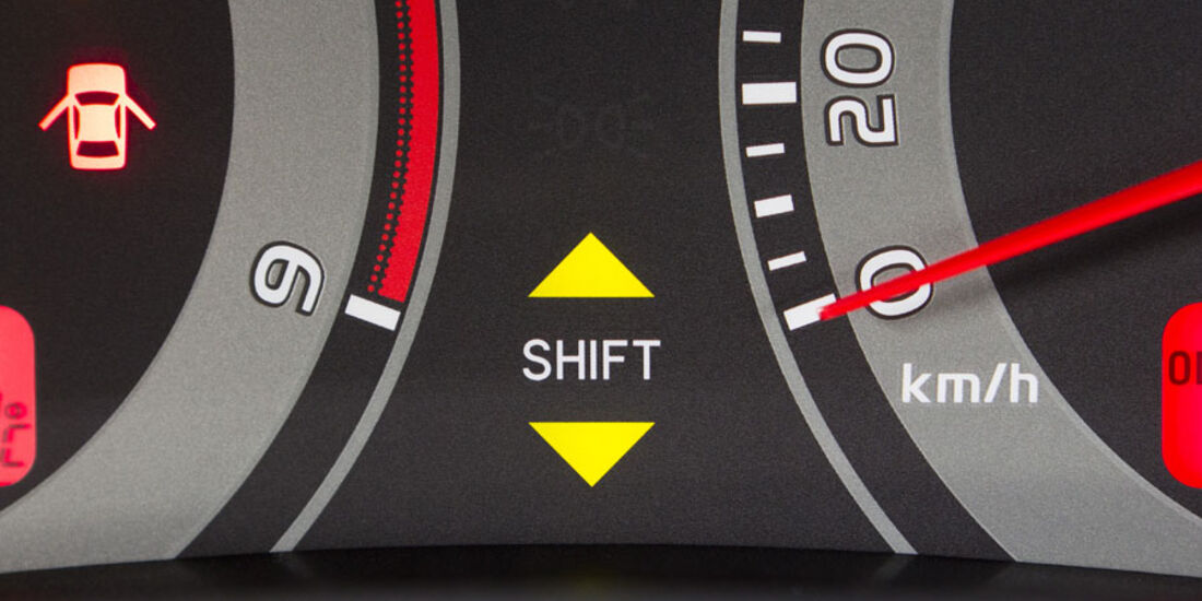 Toyota Auris, Schaltpunktanzeige