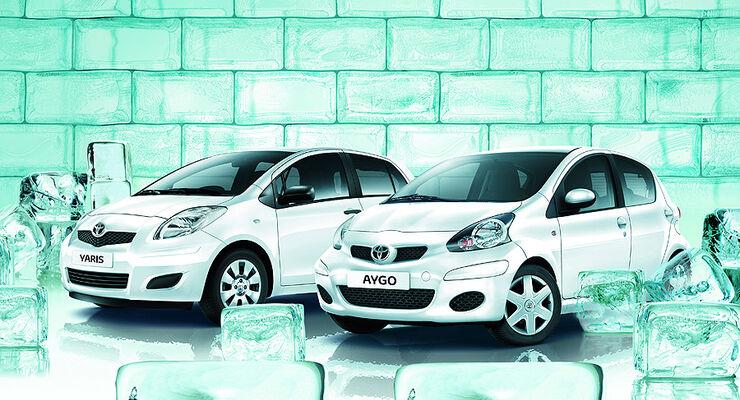 Toyota Aygo Toyota Yaris Sondermodell Cool