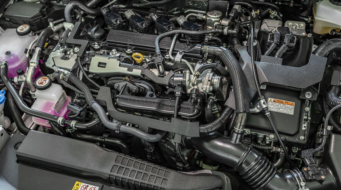 Toyota Corolla Touring Sports 2.0 Hybrid Lounge, Motorraum