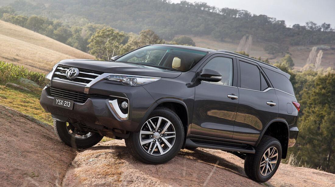 Toyota Fortuner 2015 Weltpremiere