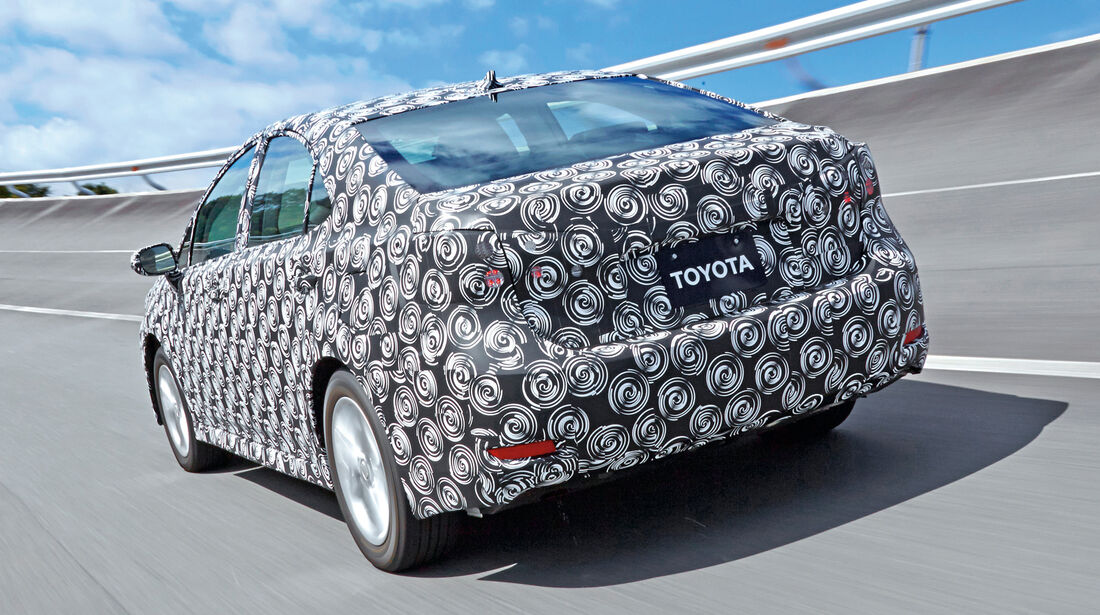 Toyota Fuel Cell Vehicle, Heckansicht
