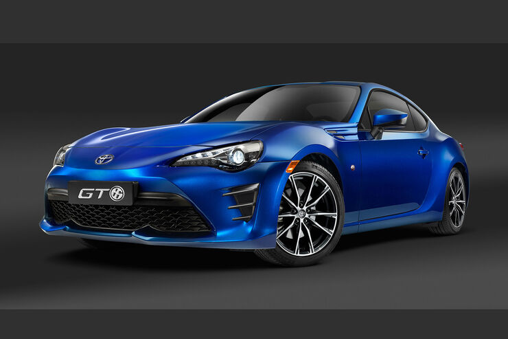 Toyota GT 86 Facelift 2016