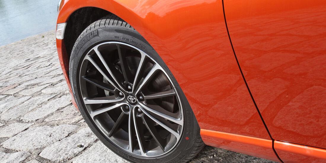 Toyota GT 86, Rad, Felge