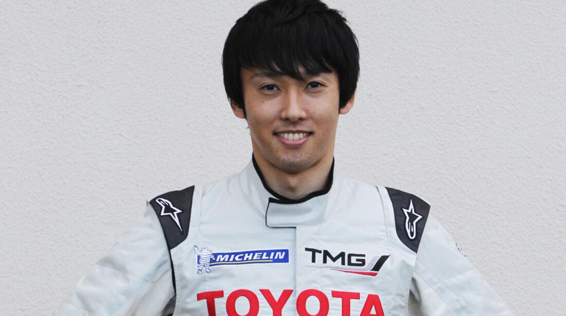 Toyota Kazuki Nakajima 2012