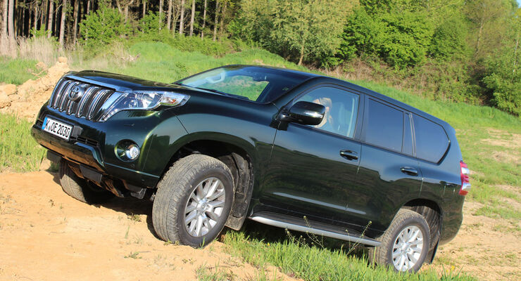 Toyota Land Cruiser 150 Executive Test