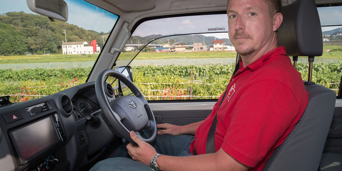 Toyota Land Crusier 70