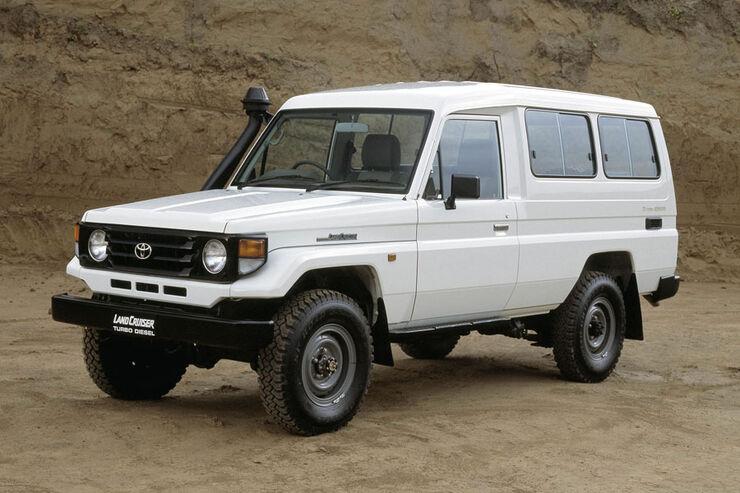 Toyota Land Cruiser 70 (J7) Technische Daten - auto motor ...