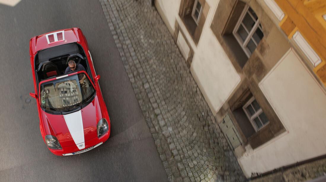 Toyota MR2 Competition, Draufsicht